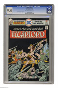Bronze Age (1970-1979):Miscellaneous, Warlord #1 (DC, 1976) CGC NM 9.4 Off-white to white pages. MikeGrell story, cover and art. Overstreet 2004 NM- 9.2 value = ...