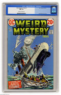 Bronze Age (1970-1979):Horror, Weird Mystery Tales #2 (DC, 1972) CGC NM 9.4 Off-white to whitepages. Jack Kirby art. Overstreet 2004 NM- 9.2 value = $35. ...
