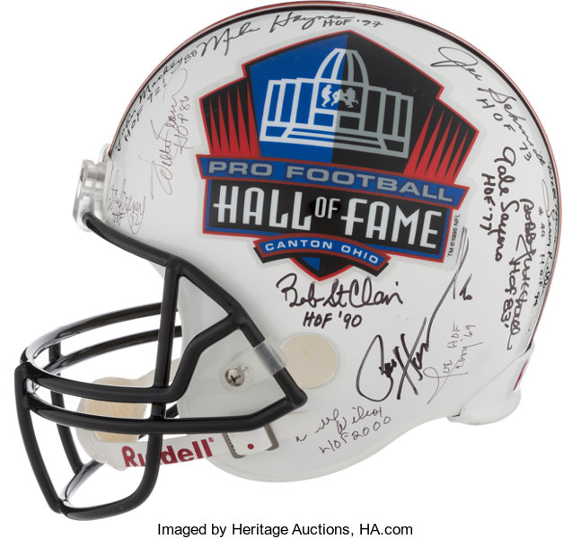 e1cc020810f 2000 s Pro Football Hall of Famers Multi Signed Full Sized