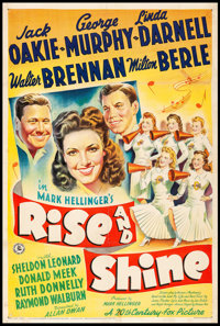 """Rise and Shine (20th Century Fox, 1941) Fine+ on Linen. One Sheet (27"""" X 41""""). Comedy. From the Collection of..."""