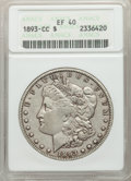 1893-CC $1 XF40 ANACS. NGC Census: (224/2148). PCGS Population: (437/4417). CDN: $1,125 Whsle. Bid for problem-free NGC/...