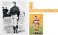 """Football Collectibles:Others, Circa 1950 W.F. """"Fats"""" Henry Signed Cut Signature...."""