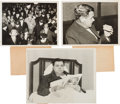Baseball Collectibles:Photos, 1932-35 Babe Ruth Vintage Photographs Lot of 3.  E...