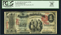 National Bank Notes:North Carolina, Fayetteville, NC - $1 1875 Fr. 383 The Fayetteville NB Ch. # 1756 PCGS Apparent Very Fine 30.. ...