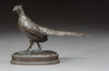 Sculpture, Antoine-Louis Barye (French, 1796-1875). Faison. Bronze with brown patina. 4-7/8 inches (12.4 cm). Stamped on base: Ba...
