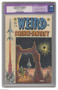 Golden Age (1938-1955):Science Fiction, Weird Science-Fantasy #24 (EC, 1954) CGC Apparent VF 8.0 Slight (P)Off-white to white pages. Harlan Ellison's first profess...