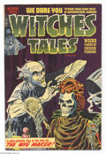 Golden Age (1938-1955):Horror, Witches Tales #23 (Harvey, 1954) Condition: FN+. Cover by LeeElias. Sid Check, Joe Certa, and Bob Powell art. Overstreet 20...