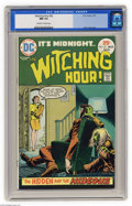 Bronze Age (1970-1979):Horror, Witching Hour #52 (DC, 1975) CGC NM 9.4 Off-white to white pages.Nick Cardy cover. Overstreet 2004 NM- 9.2 value = $12. CGC...