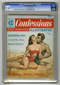 Magazines:Romance, Confessions Illustrated #2 (EC, 1956) CGC FN/VF 7.0 Cream to off-white pages. Rudy Nappi cover. Jack Kamen, Reed Crandall, J...
