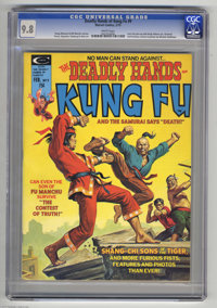 The Deadly Hands of Kung Fu #9 (Marvel, 1975) CGC NM/MT 9.8 White pages. Shang-Chi and Sons of the Tiger appear. Earl No...