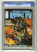 Bronze Age (1970-1979):Superhero, The Deadly Hands of Kung Fu #30 (Marvel, 1976) CGC VF/NM 9.0Off-white to white pages. Swordquest conclusion. Jack of Hearts...