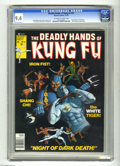 Bronze Age (1970-1979):Superhero, The Deadly Hands of Kung Fu #31 (Marvel, 1976) CGC NM 9.4 Off-whiteto white pages. White Tiger cover painting by Bob Larkin...