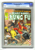 Magazines:Miscellaneous, The Deadly Hands of Kung Fu #33 (Marvel, 1977) CGC VF/NM 9.0Off-white to white pages. Final issue. Daughters of the Dragon ...