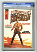 Bronze Age (1970-1979):Superhero, Doc Savage #1 (Marvel, 1975) CGC NM 9.4 White pages. Ron Ely photocover and frontispiece. John Buscema and Tony DeZuniga ar...