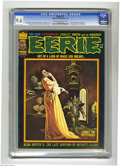 Bronze Age (1970-1979):Horror, Eerie #71 (Warren, 1976) CGC NM+ 9.6 Off-white to white pages.Berni Wrightson frontispiece. First appearance of the Goblin....