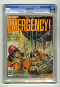 "Magazines:Miscellaneous, Emergency #2 (Charlton, 1976) CGC NM+ 9.6 Off-white to white pages.Photo gallery of ""Emergency!"" cast. Neal Adams cover. Ov..."