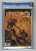 Magazines:Science-Fiction, Epic Illustrated #29 (Marvel, 1985) CGC NM 9.4 White pages. Firstappearance of Sheeva. Frank Freas and Jose Segrelles portf...