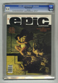 "Magazines:Science-Fiction, Epic Illustrated #31 (Marvel, 1985) CGC NM 9.4 White pages.Continues ""The Last Galactus Story"" with art by John Byrne and T..."