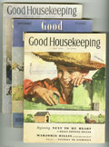 Magazines:Vintage, Good Housekeeping Group (Hearst Magazines Inc., 1936-1939) Condition: Average VG. Group of three Good Housekeeping magaz... (Total: 3 items Item)
