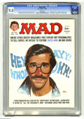 """Magazines:Mad, Mad #187 (EC, 1976) CGC VF/NM 9.0 White pages. """"Happy Days"""" and """"All The President's Men"""" parodies. Jack Rickard cover featu..."""
