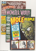 Bronze Age (1970-1979):Miscellaneous, Miscellaneous Weird Magazine Group (Various, 1956-71) Condition:Average VG+. Four-issue lot off unusual books includes Th...(Total: 4 items Item)