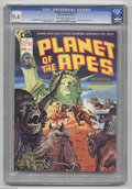 Magazines:Science-Fiction, Planet of the Apes #7 (Marvel, 1975) CGC NM 9.4 Off-white to whitepages. Bob Larkin cover painting. Alfredo Alcala interior...