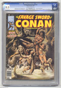 Magazines:Miscellaneous, Savage Sword of Conan #32 (Marvel, 1978) CGC VF+ 8.5 Off-white towhite pages. Ernie Chan frontispiece. Robert E. Howard ada...