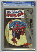 Magazines:Superhero, Spectacular Spider-Man #1 (Marvel, 1968) CGC VF/NM 9.0 Cream tooff-white pages. Updated origin of Spider-Man with Larry Lie...