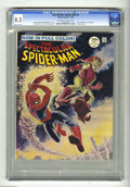 Magazines:Superhero, Spectacular Spider-Man #2 (Marvel, 1968) CGC VF+ 8.5 Off-white towhite pages. Here's a copy of the short lived magazine-siz...