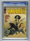Magazines:Horror, Vampirella #31 (Warren, 1974) CGC VF/NM 9.0 Off-white pages. Origin of Luana, the Beast Girl. Seven-page color story with ar...
