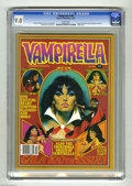 Bronze Age (1970-1979):Horror, Vampirella #100 (Warren, 1981) CGC VF/NM 9.0 White pages. Originreprinted from Annual #1. Vampirella appears topless. Anton...