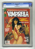 Magazines:Horror, Vampirella #113 (Harris Publications, 1988) CGC FN/VF 7.0 White pages. First issue published by Harris. Very low print run a...