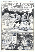 Original Comic Art:Splash Pages, Jose Matucenio - G.I. Combat #223, Splash Page 1 Original Art (DC,1980). Vietnamese warfare is the focus of this jungle thr...
