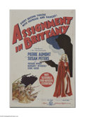 Movie Posters:War, Assignment in Brittany (MGM, 1943)...