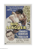 Movie Posters:Musical, Big Leaguer (MGM, 1953)...
