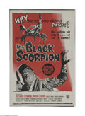 Movie Posters:Science Fiction, The Black Scorpion (Warner Brothers, 1957)...