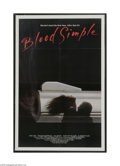 Movie Posters:Thriller, Blood Simple (Circle Films, 1984)...
