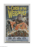 Movie Posters:Horror, Curse of the Werewolf (Universal, 1961)...