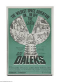 Movie Posters:Science Fiction, Dr. Who and the Daleks (Continental, 1965)...