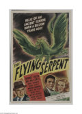 Movie Posters:Horror, The Flying Serpent (PRC, 1946)...