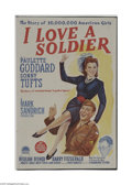 Movie Posters:Drama, I Love a Soldier (Paramount, 1944)...