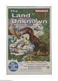 Movie Posters:Science Fiction, Land Unknown (Universal, 1957)...