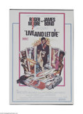 Movie Posters:Action, Live and Let Die (United Artists, 1973)...