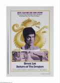 Movie Posters:Action, Return of the Dragon (Bryanston Pictures, 1974)...