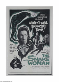 The Snake Woman (United Artists, 1961)