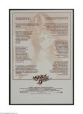 Movie Posters:Musical, A Star is Born (Warner Brothers, 1976)...