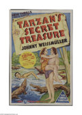 Movie Posters:Adventure, Tarzan's Secret Treasure (MGM, 1941)...