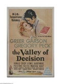 Movie Posters:Drama, The Valley of Decision (MGM, 1945)...