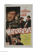 Movie Posters:War, Waterfront (PRC, 1944)...
