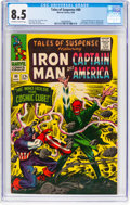 Silver Age (1956-1969):Superhero, Tales of Suspense #80 (Marvel, 1966) CGC VF+ 8.5 Off-white to white pages....